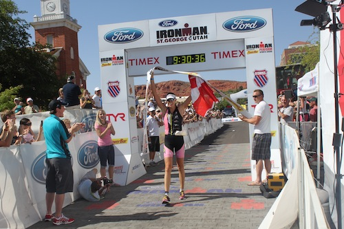 st. george ironman winner 2011