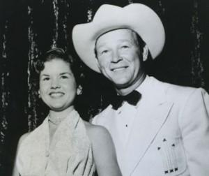Cheryl Rogers and Roy Rogers | Photo courtesy of Cheryl Rogers Barnett