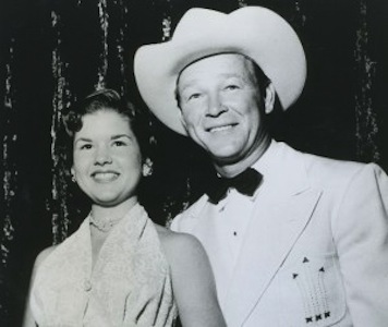 Cheryl Rogers and Roy Rogers | Photo courtesy of Cheryl Rogers Barnett
