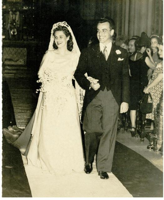 Florinda and Roberto Hevia Rodriguez in Cuba, 1946 | Photo courtesy of Raul Hevia, St. George News