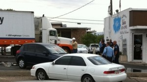 truck hits power line in st. george