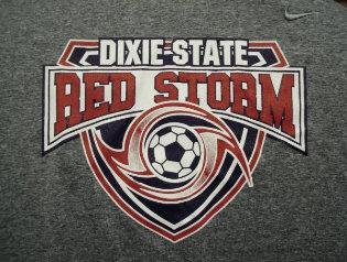 DSC Red Storm Soccer Logo