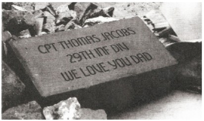 An example of a commemorative brick used in the Veterans Honor Park, SunRiver St. George, St. George, Utah | St. George News