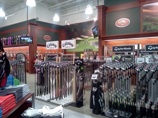 36de3effa721 A part of the Golf Pro Shop at Dick's Sporting Goods | Photo by Mori  Kessler, St. George News
