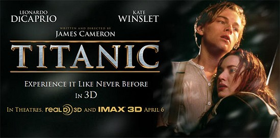 Does titanic hold up in 3d st george news for 3d film archive