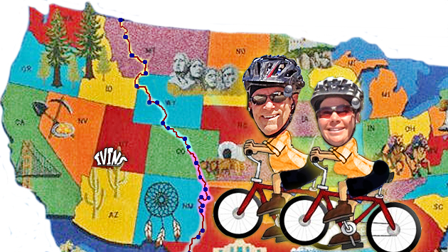 Pedaling The Great Divide with the St. George Shanklins   Image created on June 13, 2012, by Brett Barrett, St. George News