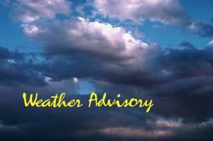 Weather Advisory