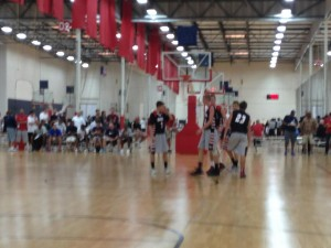 24/7 Hoops at the Adidas 3 stripes tournament 2