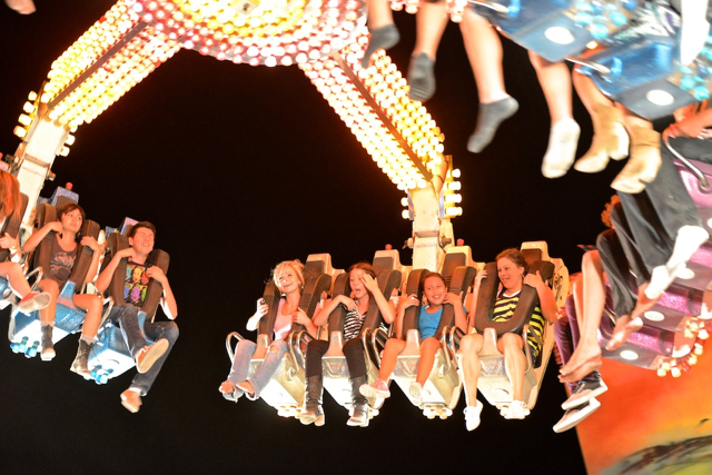 Hanging out at the Washington County Fair, Hurricane, Utah, Aug. 8,  2012 | Photo by Dave Amodt, St. George News