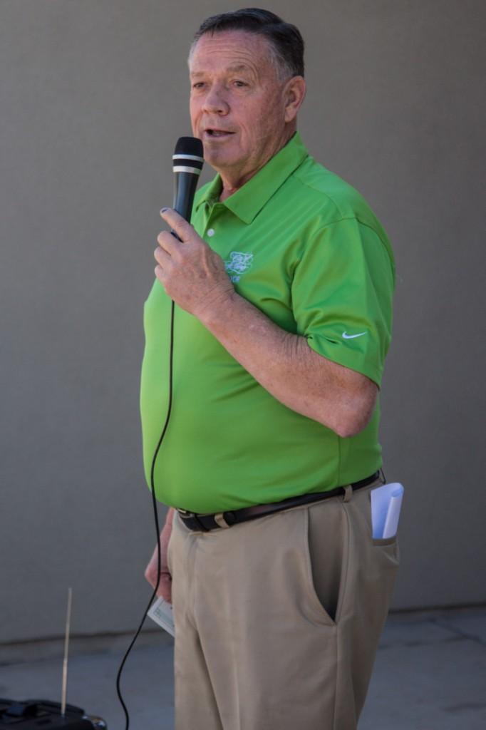Mayor Dan McArthur
