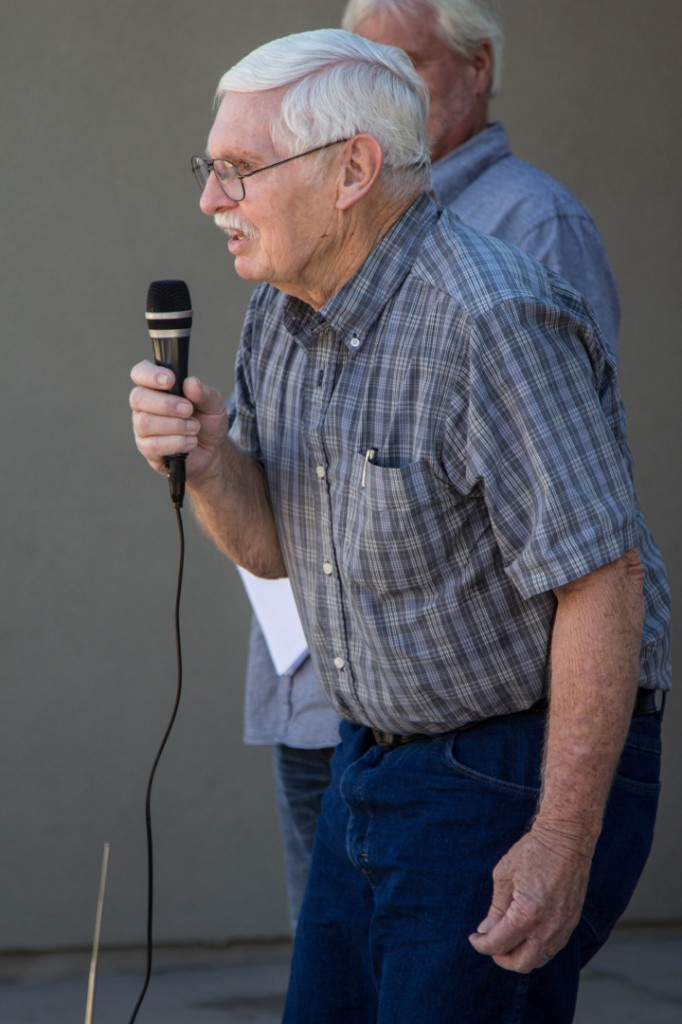 Glen Martin, grandfather of Lindsey Smith | Ribbon-cutting ceremony for the Home for Lindsey