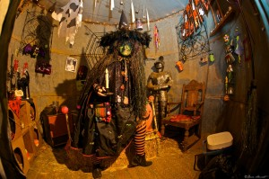 Wick'a Dee Witch at Staheli Family Farm, Washington City, Utah, Oct. 22, 2012   Photo by Dave Amodt, St. George News