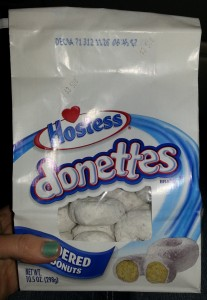 The last bag of Hostess Donettes in the world found at Jacob's Lake Lodge in Kaibab