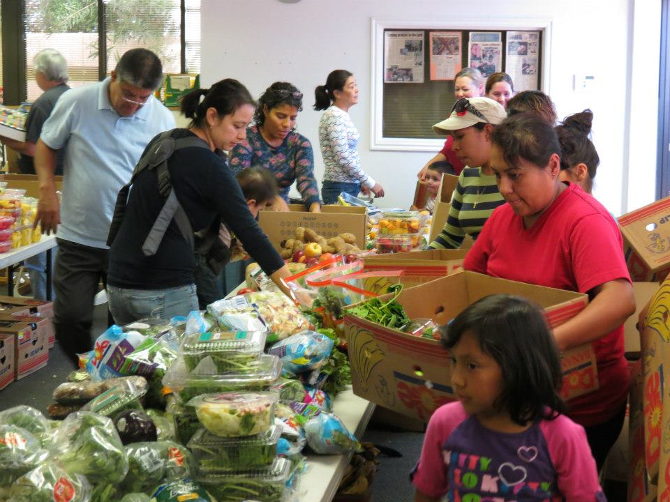 Utah Food Bank, Lin's Marketplace, Harmon's Costco, Winder Dairies, and Wal-Mart, among others, provide food for food boxes for the needy served by Iglesia de Dios de la Protecia on Friday afternoons, and Sunday Feast provided every Sunday, at Solomon's Porch Foursquare Church, St. George, Utah
