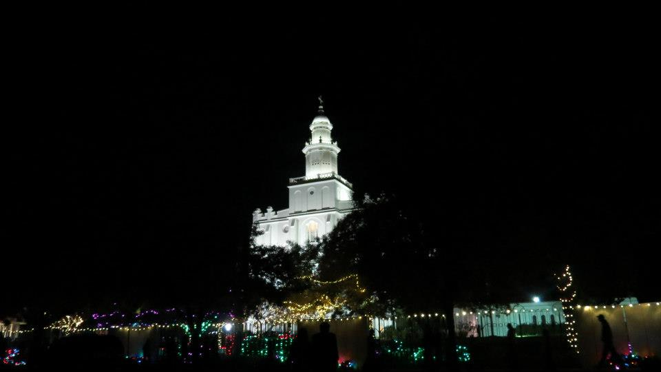 2012 Lighting of the LDS St. George Temple