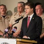 speaks on the marijuana crackdown, Hurricane, Utah, Nov. 1, 2012 | Photo by Chris Caldwell, St. George News