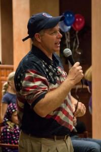 Washington County Republican Party Chairman, Willie Billings, Election Night, St. George, Utah, Nov. 6, 2012