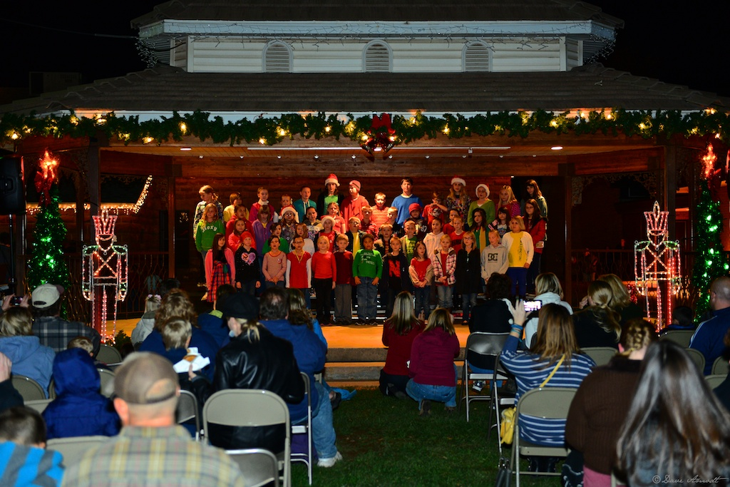 washington elementary performs at the christmas in dixie - Christmas In Dixie