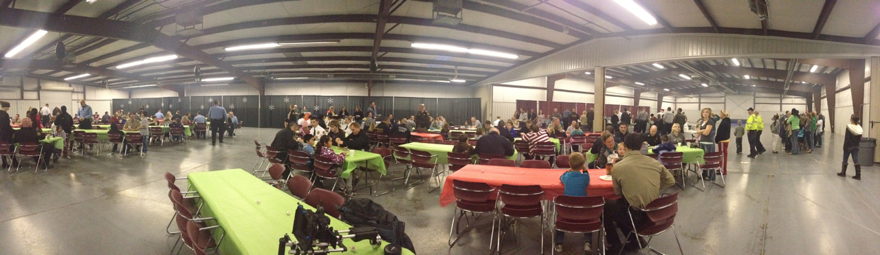 Washington County kids breakfast with a cop before Shop with a Cop 2012