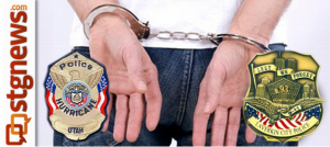 Arrest by Hurricane and La Verkin Police Department action | Image by St. George News