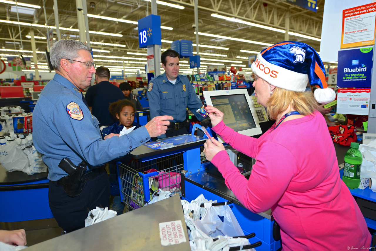 Cops, cashiers and kids