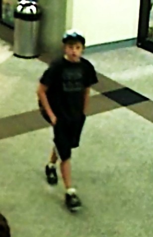 Dylan Redwine, 13, in Durango Airport video footage, Dylan arrived in Durango for a visit with his father, Mark Redwine, from Nov. 18, 2012