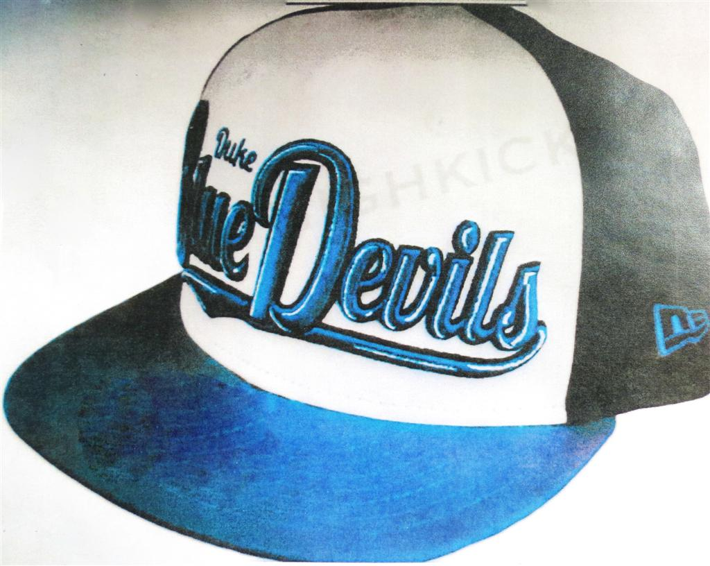 A hat like that which Dylan Redwine was wearing on Nov. 18, 2012
