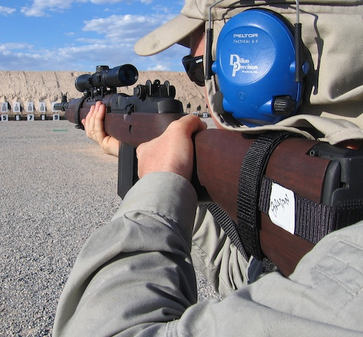 Firearm training at Front Sight