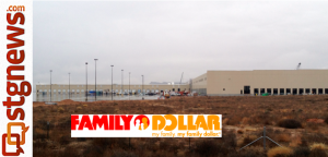 Family Dollar Distribution Center under construction St. George UT Dec 2012
