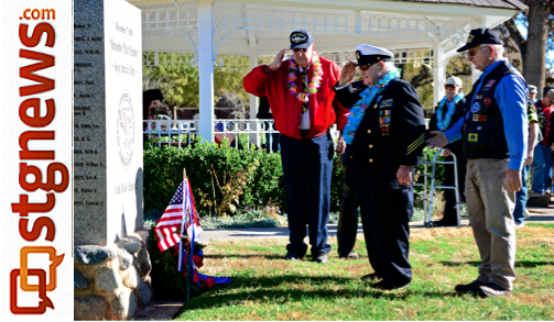 Memorial ceremony 71 years, Pearl Harbor survivors honored