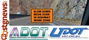 ADOT UDOT 'Move Over' construction zones