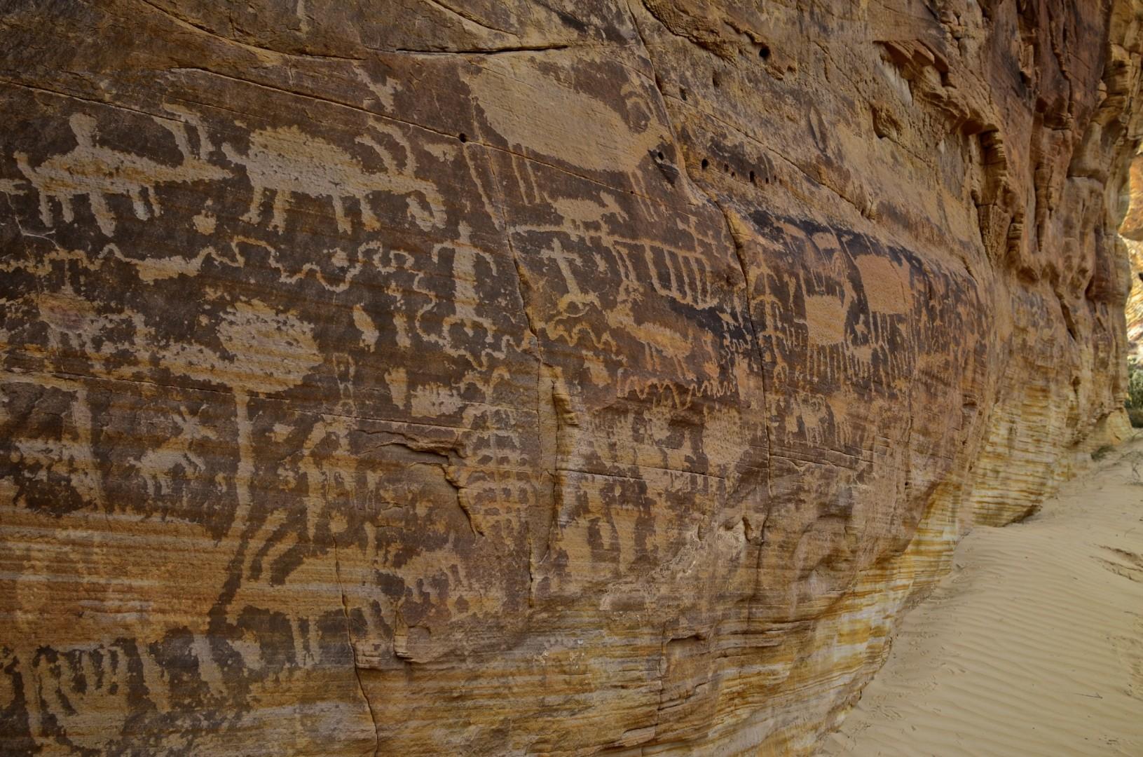 Kotha Circus Petroglyphs, near Mesquite, Nev