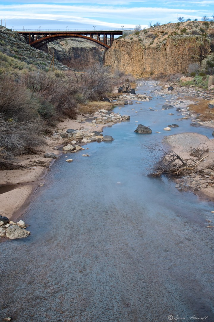 Virgin River at the state Route 9 bridge at the Pah Tempe Hot Springs area, Hurricane–LaVerkin | Dave Amodt, STGnews.com
