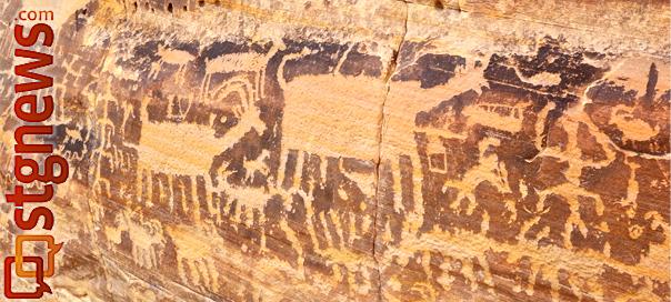 Kotha Circus Panel of Petroglyphs