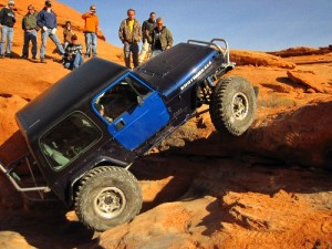 Winter on the Rocks Hurricane Utah OHV and Jeeping