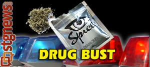 Spice drug bust | Image by Brett Barrett, St. George News