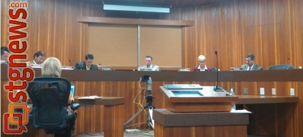 The St. George City Council, St. George, Utah, Jan. 3, 2013 | Photo by Mori Kessler, St. George News.