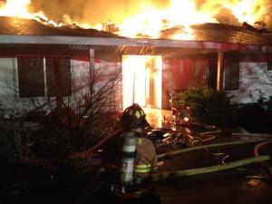 Toquerville fire Jan. 26, 2013