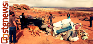 SUCA cleanup at Garth Rocks