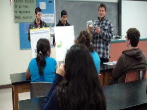 Becky Scano's special education class at Snow Canyon High School, Santa Clara, Utah, undated | Photo courtesy of Becky Scano