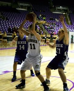 Dixie vs. Desert Hills, 3A Girls Championship, Ogden, Utah, Feb. 23, 2013 | Photo by Sara Amodt, St. George News