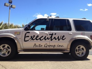 This year's prize car is a 2001 Ford Explorer. Photo by Sarafina Amodt, St. George News, Feb. 26 2013.