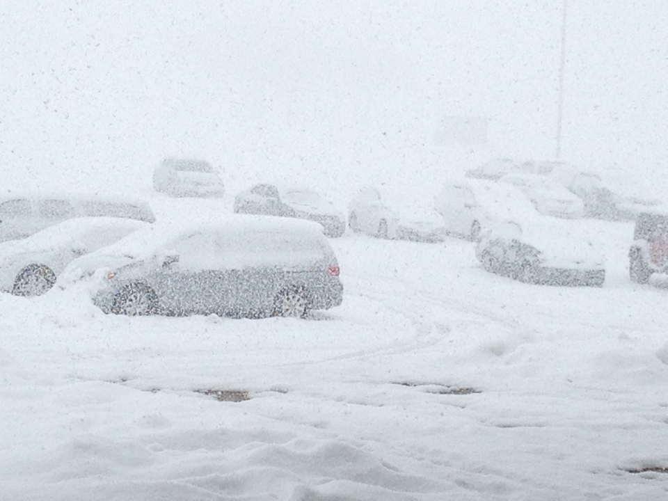 Parking Lot at the 3A Basketball Championships, Ogden, Utah, Feb. 23, 2013 | Photo by Sarafina Amodt, St. George News