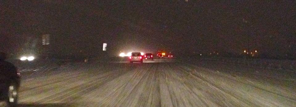 Interstate 15, Salt Lake City area, Utah, Feb. 23, 2013 | Photo by Sarafina Amodt, St. George News