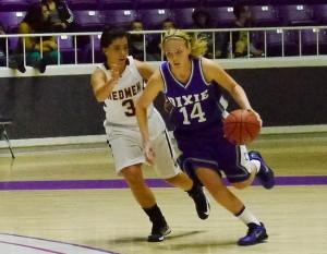 Dixie vs. Cedar, 3A semifinal, Ogden, Utah, Feb. 22, 2013   Photo by Sara Amodt, St. George News