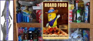 Food hoarding | Image by St. George News design staff