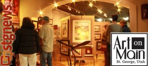 Art On Main strollers in Sunset Framer & Gallery. | Photo curtesy of Art On Main's Facebook Page.