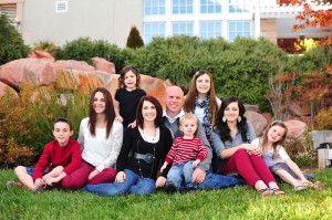 The White family, St. George, Utah, Sept. 13, 2012   Photo courtesy of Rebekah White