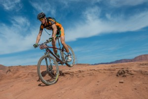 True Grit Epic Mountain Bike Race, a National Ultra Endurance race crossing some 100 miles of dirt in the Tonaquint and Santa Clara public lands region of St. George, Utah, March 16, 2013 | Photo by Dave Amodt, St. George News