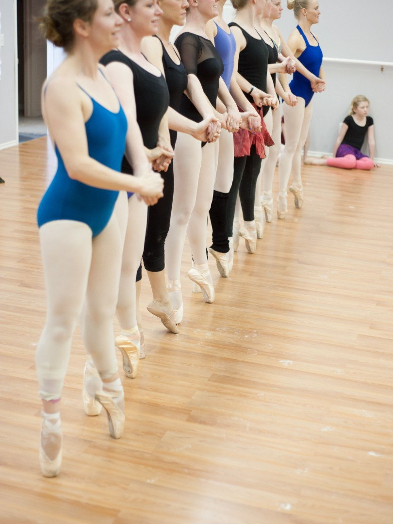 how to get better at ballet